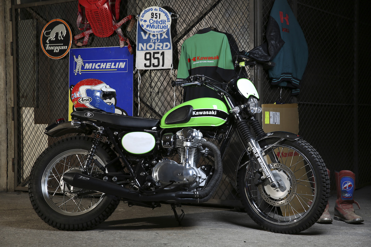 Kawasaki W   La Folie-scrambler
