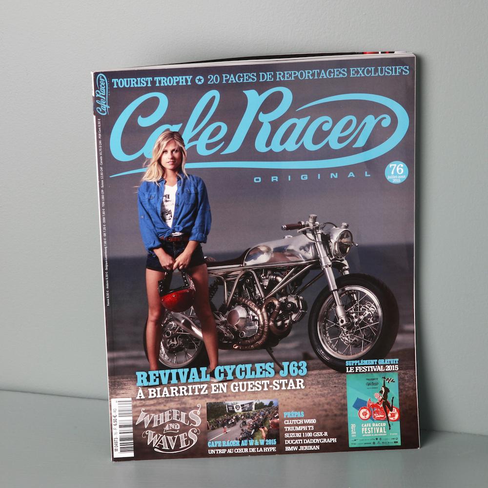 Cr76 juillet ao t 2015 cafe racer for Garage honda montlhery