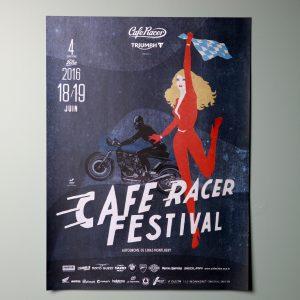 Affiche Cafe Racer Festival 2016