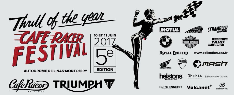Affiche Cafe Racer Festival