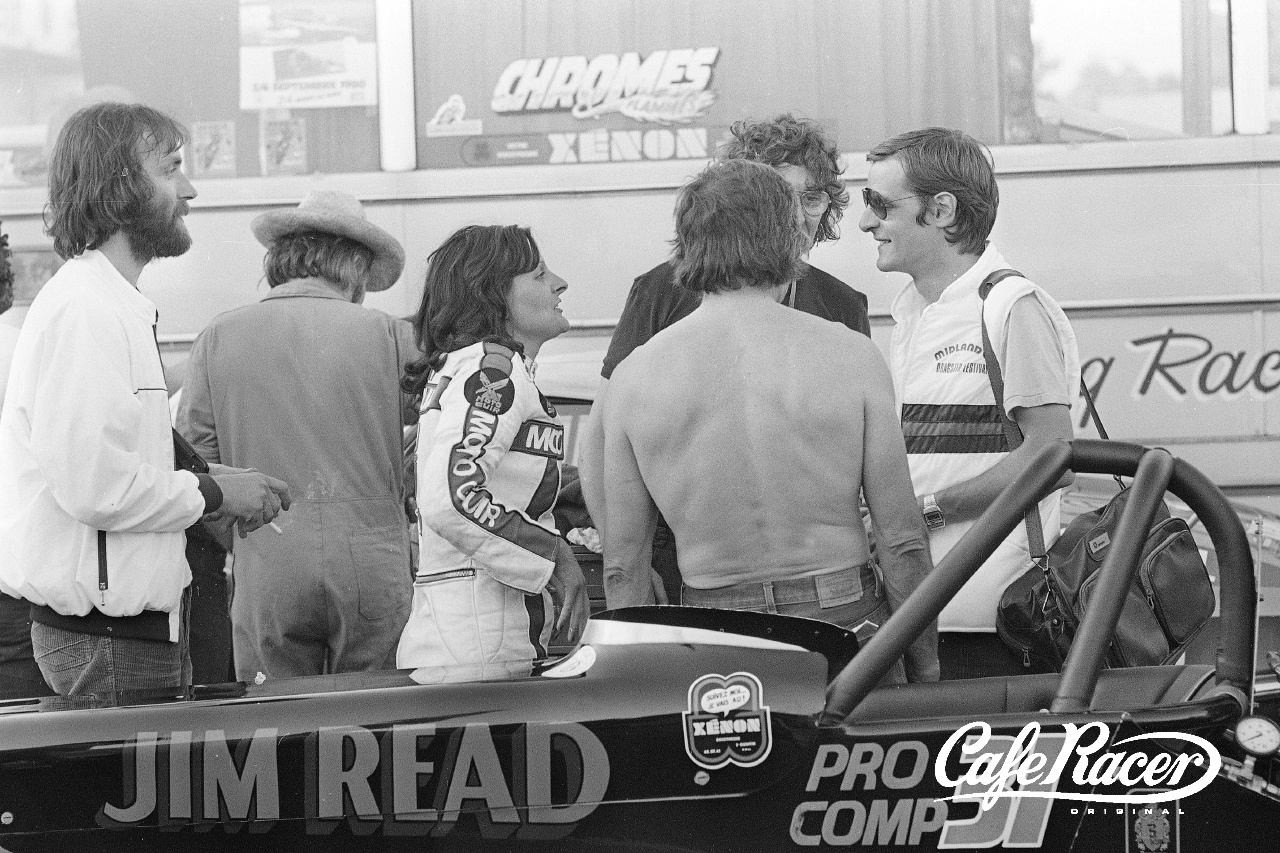Dragster Le Mans 1981. @Stan Pérec