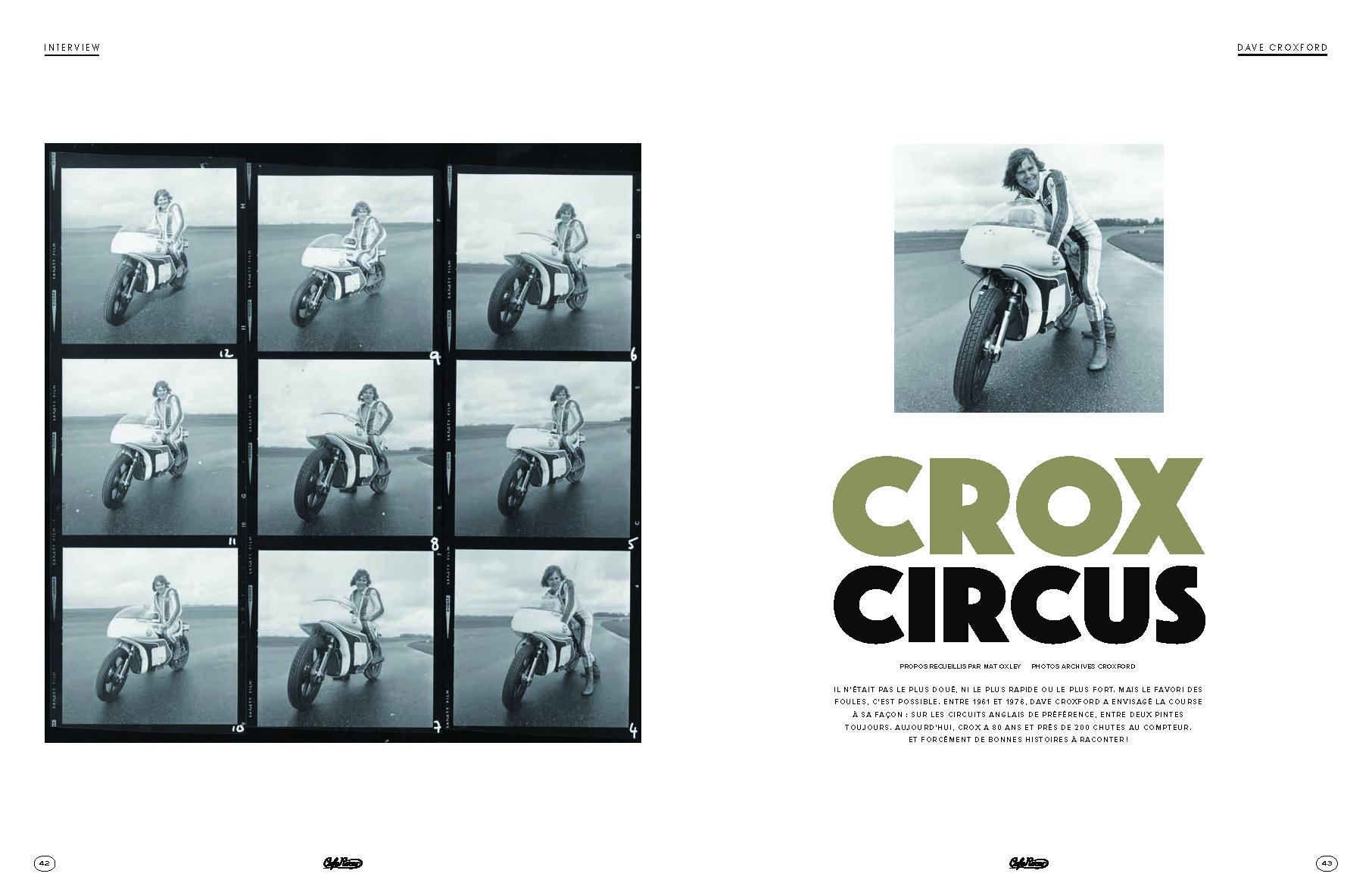 Dave Croxford, clown des circuits anglais.