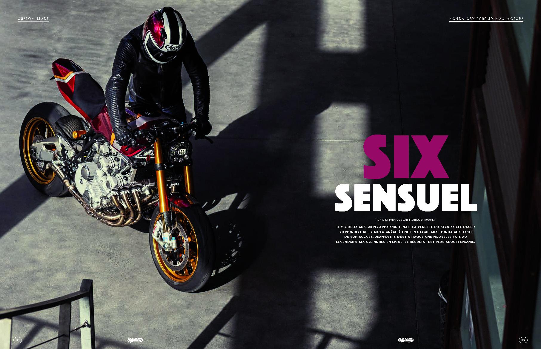 Impressionnante CBX par JD Max.
