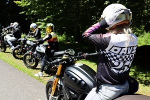 Veste Moto Eudoxie Cafe Racer