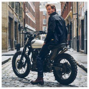 Jean Moto Bike Shed Cafe Racer