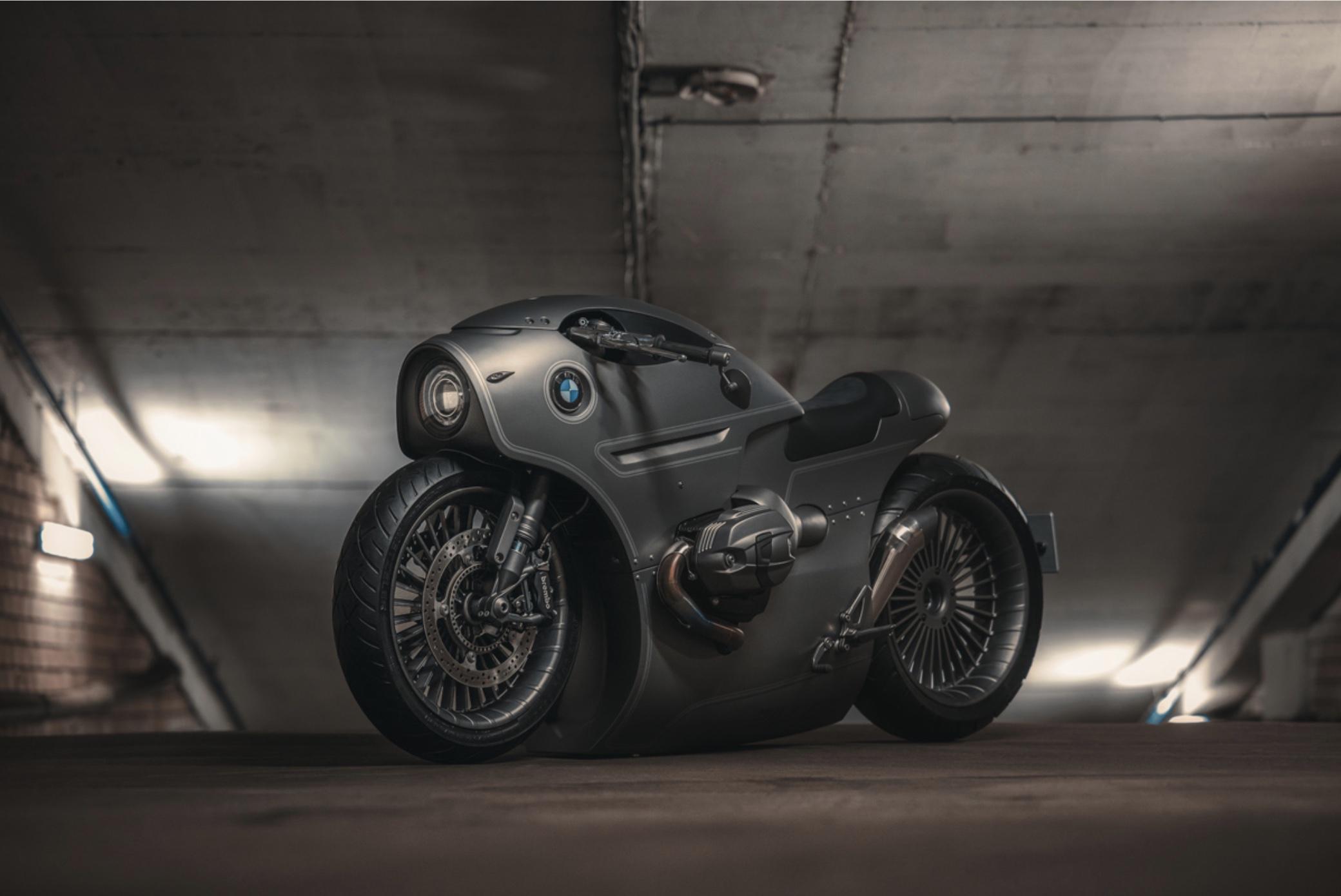 Le custom BMW R nineT 2016 de Zillers Garage